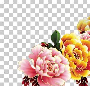 Floral Design Poster Monkey PNG