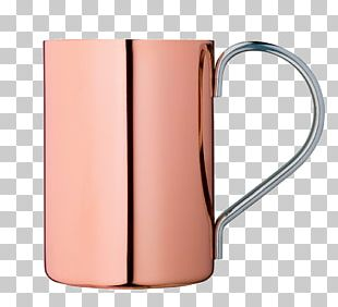 Moscow Mule Mint Julep Copper Mug Table-glass PNG