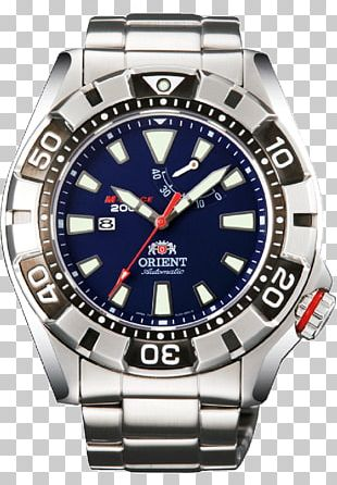 Orient Watch Power Reserve Indicator Diving Watch Automatic Watch PNG