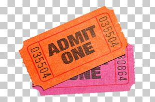 Ticket Cinema Stock Photography PNG