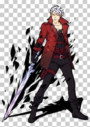 Devil May Cry 4 Dante Anime Png Clipart Akame Ga Kill