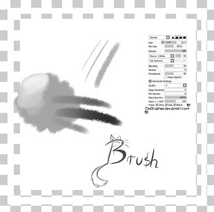 Calligraphy Paint Tool SAI Brush Painting PNG