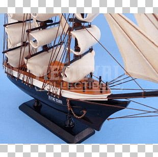 Brigantine Ship Clipper Barque PNG