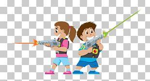 Laser Tag Game Child PNG