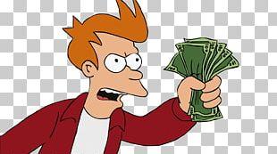 Philip J. Fry Money Bender Credit Card PNG