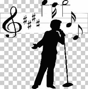 Singer-songwriter Singing PNG