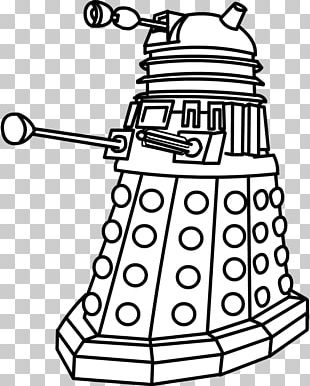 Ninth Doctor Dalek Coloring Book Musician Png Clipart Area