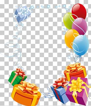 Happy Birthday Card! Frame Greeting Card PNG