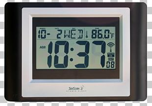 La Crosse Radio Clock Digital Clock Measuring Scales PNG