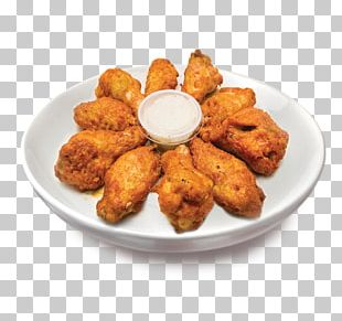 Buffalo Wing Chicken Nugget Pizza French Fries PNG