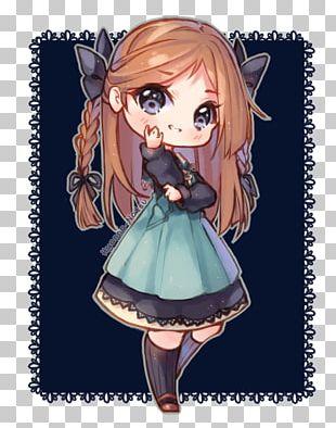 Chibi Anime Drawing Mangaka PNG