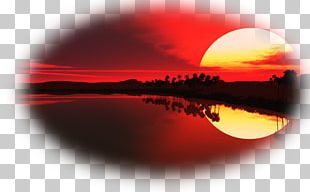 Poster Sunset Sunrise Oil Painting Canvas PNG