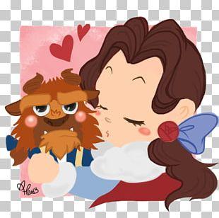 Belle Beast T-shirt Disney Princess PNG