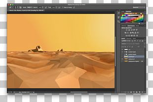 Colour Banding Gradient Skybox Desert PNG