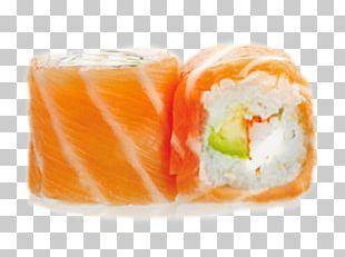 California Roll Smoked Salmon Makizushi Sushi PNG