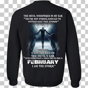 T-shirt Hoodie Devil November PNG