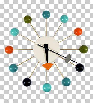 Vitra Rolling Ball Clock Mantel Clock PNG
