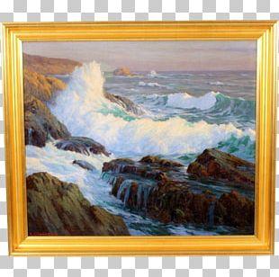 Landscape Painting Impression PNG