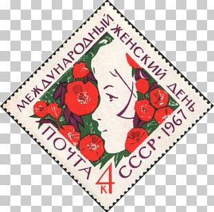 International Women's Day Woman Russia 8 March Post Cards PNG