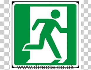 Exit Sign Emergency Exit Fire Escape Building Fire Safety PNG