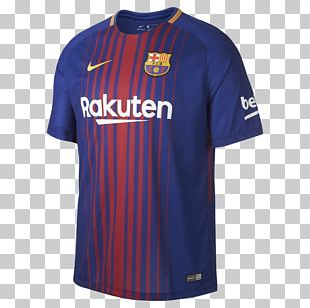 FC Barcelona T-shirt Sports Fan Jersey 2017–18 La Liga Football PNG