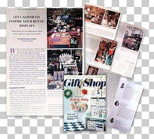 Retail Publishing Visual Merchandising Brochure PNG
