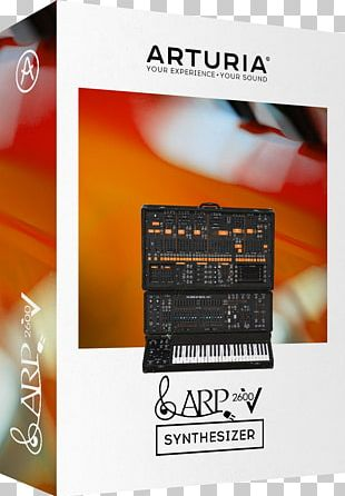 ARP 2600 Sequential Circuits Prophet-5 Sound Synthesizers Virtual Studio Technology PNG