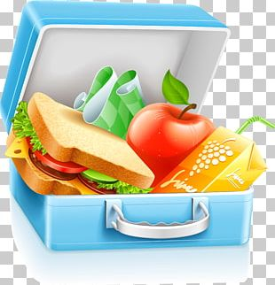 Lunchbox School Meal PNG