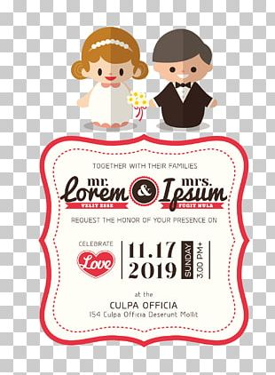 Wedding Invitation Bridegroom PNG