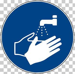 Hand Washing Symbol Sign PNG