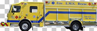 Commercial Vehicle Fire Department Emergency Vehicle Rescue PNG