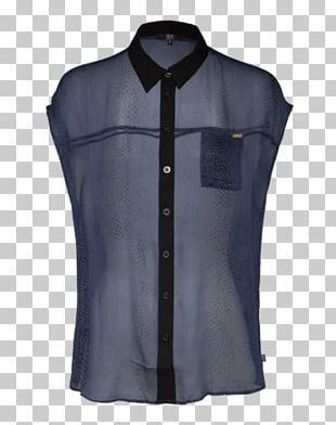 Blouse Sleeveless Shirt Button Barnes & Noble PNG