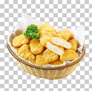 Chicken Nugget Junk Food French Fries Fast Food PNG