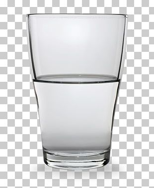 Is The Glass Half Empty Or Half Full? Water Shot Glasses Table-glass PNG