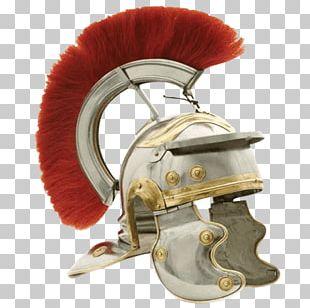Ancient Rome Roman Empire Galea Helmet Centurion PNG