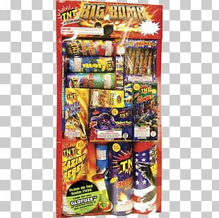Tnt Fireworks Roman Candle Bomb Tray PNG
