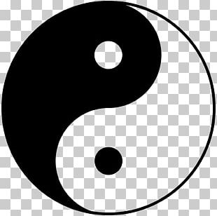 Yin And Yang Taoism Symbol Dialectical Monism Philosophy PNG