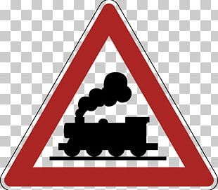 Rail Transport Level Crossing Traffic Sign Warning Sign Road PNG
