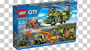 Helicopter Lego City Volcano Explorers Toy PNG