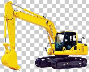 Komatsu Limited Caterpillar Inc. Excavator Heavy Machinery Backhoe PNG