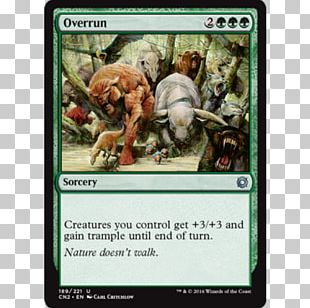 Magic: The Gathering – Duels Of The Planeswalkers 2012 Magic: The Gathering Commander Odyssey Overrun PNG