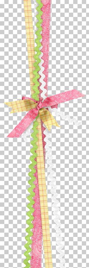 Digital Scrapbooking Ribbon Embellishment PNG