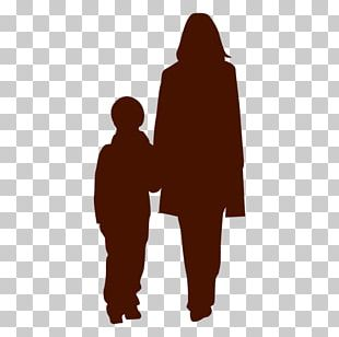 Silhouette Family Son PNG