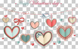Valentine's Day Greeting Card Heart Wish PNG
