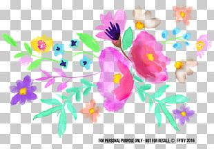 Paper Watercolor Painting PNG