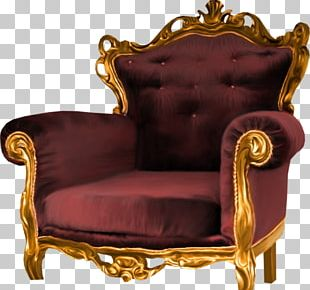 Chair Throne Fauteuil PNG