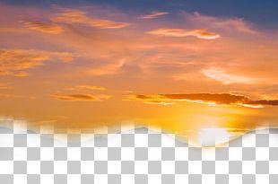 Sky Cloud Sunset Dusk PNG