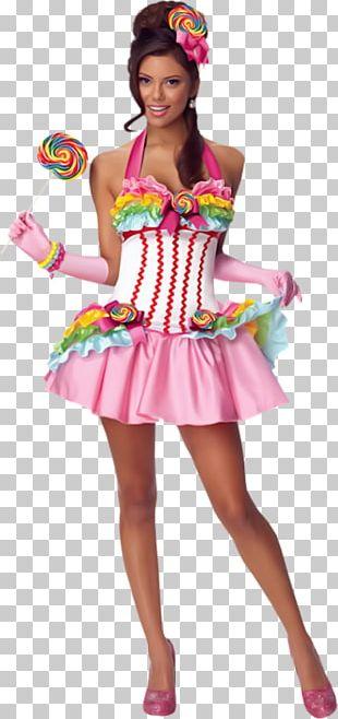 Lollipop Costume Party Halloween Costume Dress PNG