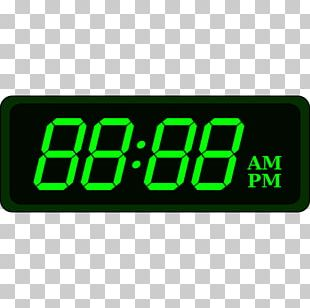 Digital Clock Alarm Clocks Timer Quartz Clock PNG