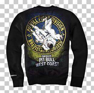 T-shirt American Pit Bull Terrier Hoodie Brazilian Jiu-jitsu Bluza PNG